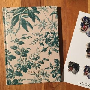 Gucci/UOMO Notebook and Sticker Sheet